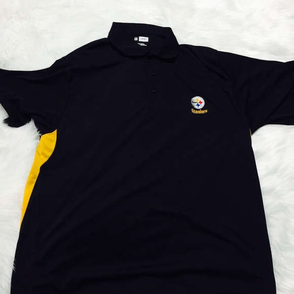 10afed16f Pittsburgh STEELERS NFL Team Apparel Polo Shirt